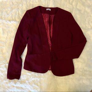 Tobi burgundy blazer, S.